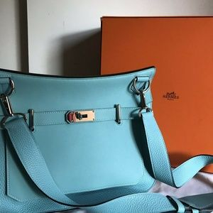 HERMES Blue Jypsiere 31 Bag